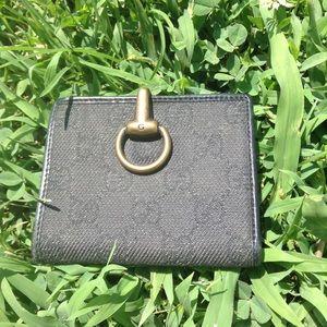 Vintage Gucci Horse Bit Bifold Wallet